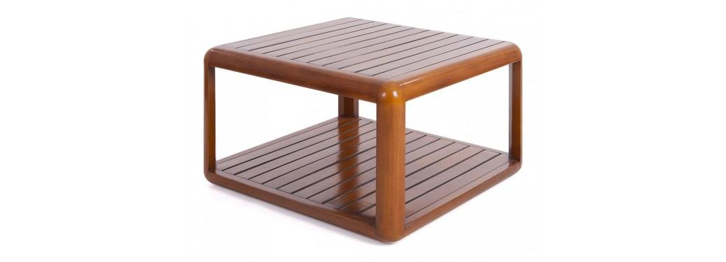 Table basse carrée Canoë