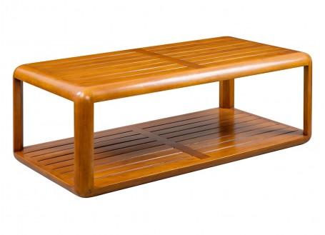 Table basse rectangulaire Canoë