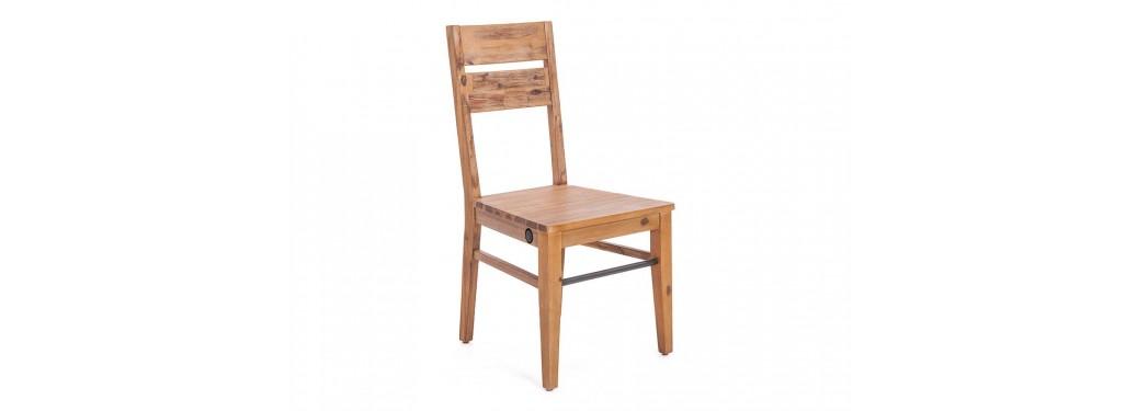 Chaise en bois massif City
