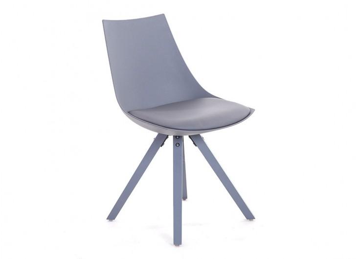 chaise gris fonc en cuir synthtique l 45 cm - Chaise Scandinave Cuir