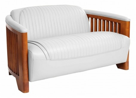 Ibiza Sofa - white leather