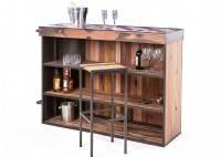 Meuble bar - Bar comptoir symbiose avec angle à droite