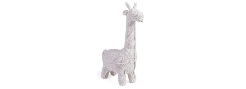 Mini girafe blanche. 55 cm