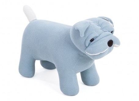 Pouf - tabouret chien bébé. 82 cm