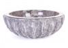 Vasque en marbre gris