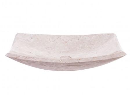 Vasque en marbre beige