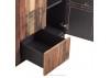 Buffet Pure industriel - 2 portes et 3 tiroirs