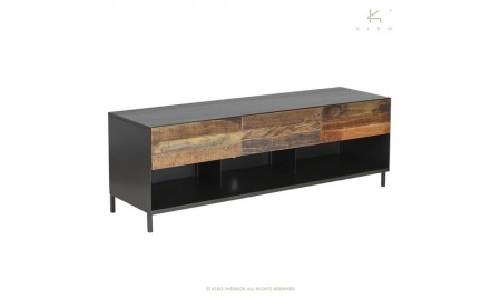 Meuble TV Pure /3 tiroirs -L160cm