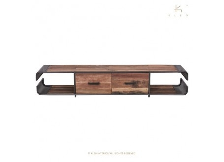 Meuble TV Nako, 2 tiroirs - L200 cm