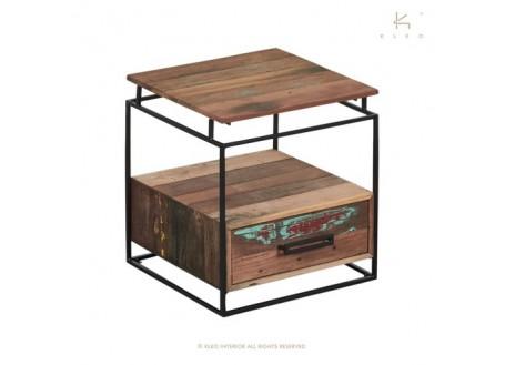 Chevet Nako /1 tiroir -H50cm