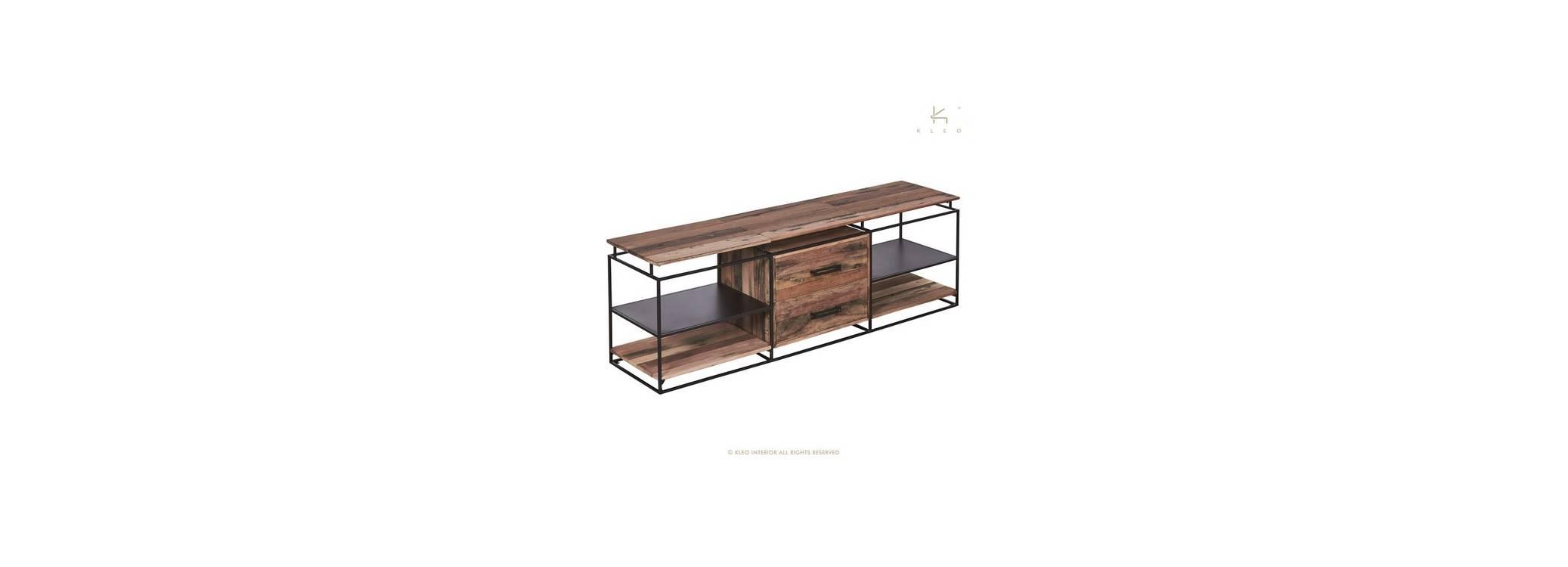 Meuble TV Nako, 2 tiroirs