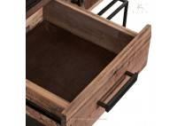 Buffet industriel Nako - 2 portes / 2 tiroirs