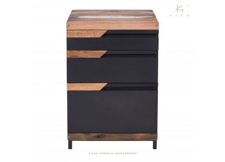 Caisson de bureau Nako, 3 tiroirs