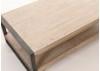 Table basse rectangulaire acacia bois clair