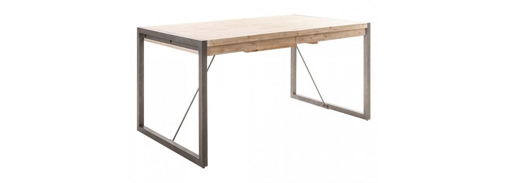 Table de repas extensible Tundra L160/210cm