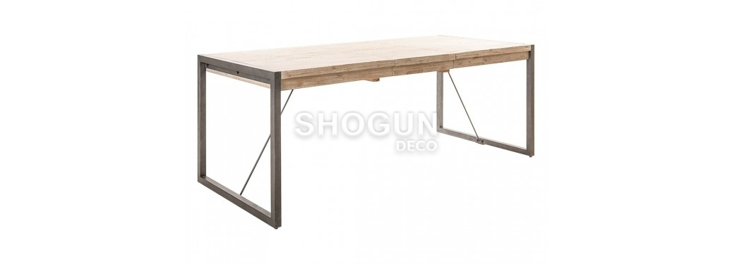 Table repas extensible Tundra L200/250cm