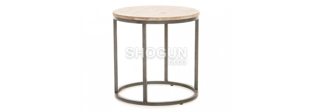 Table d'appoint ronde Tundra