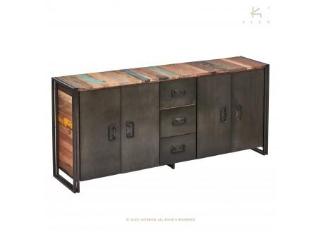 Buffet Edito, 4 portes / 3 tiroirs