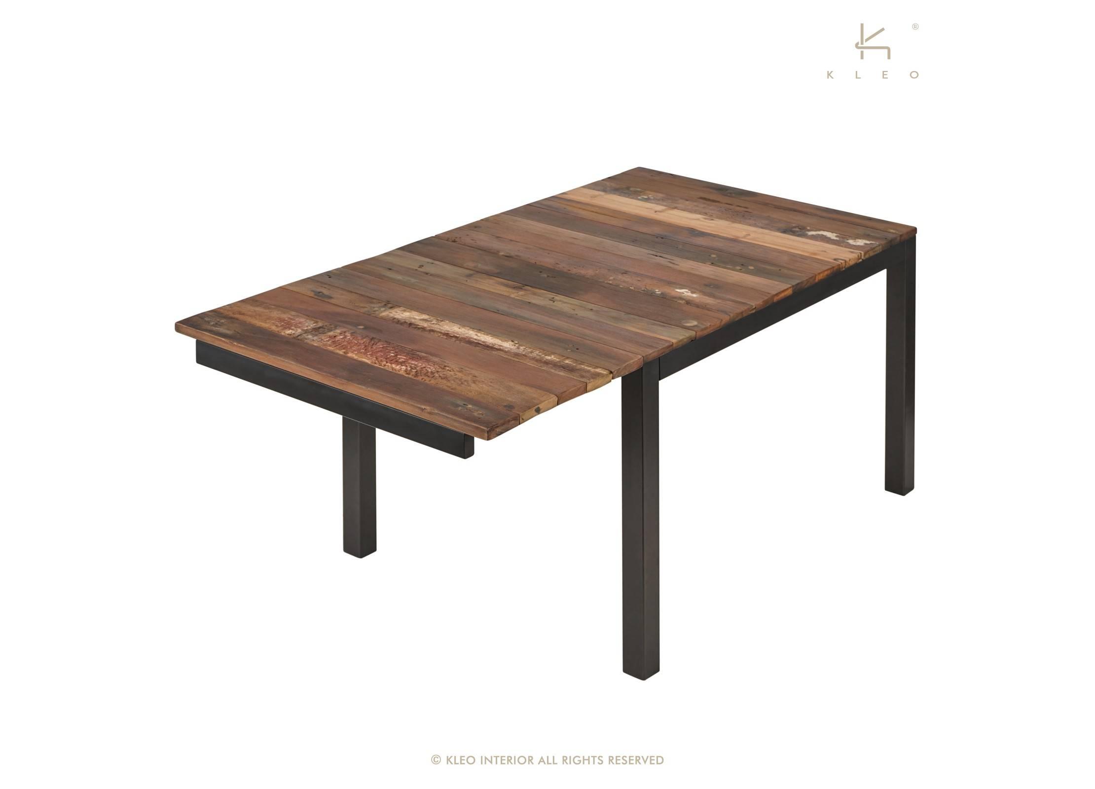 table manger rectangulaire extensible edito l120 170cm. Black Bedroom Furniture Sets. Home Design Ideas