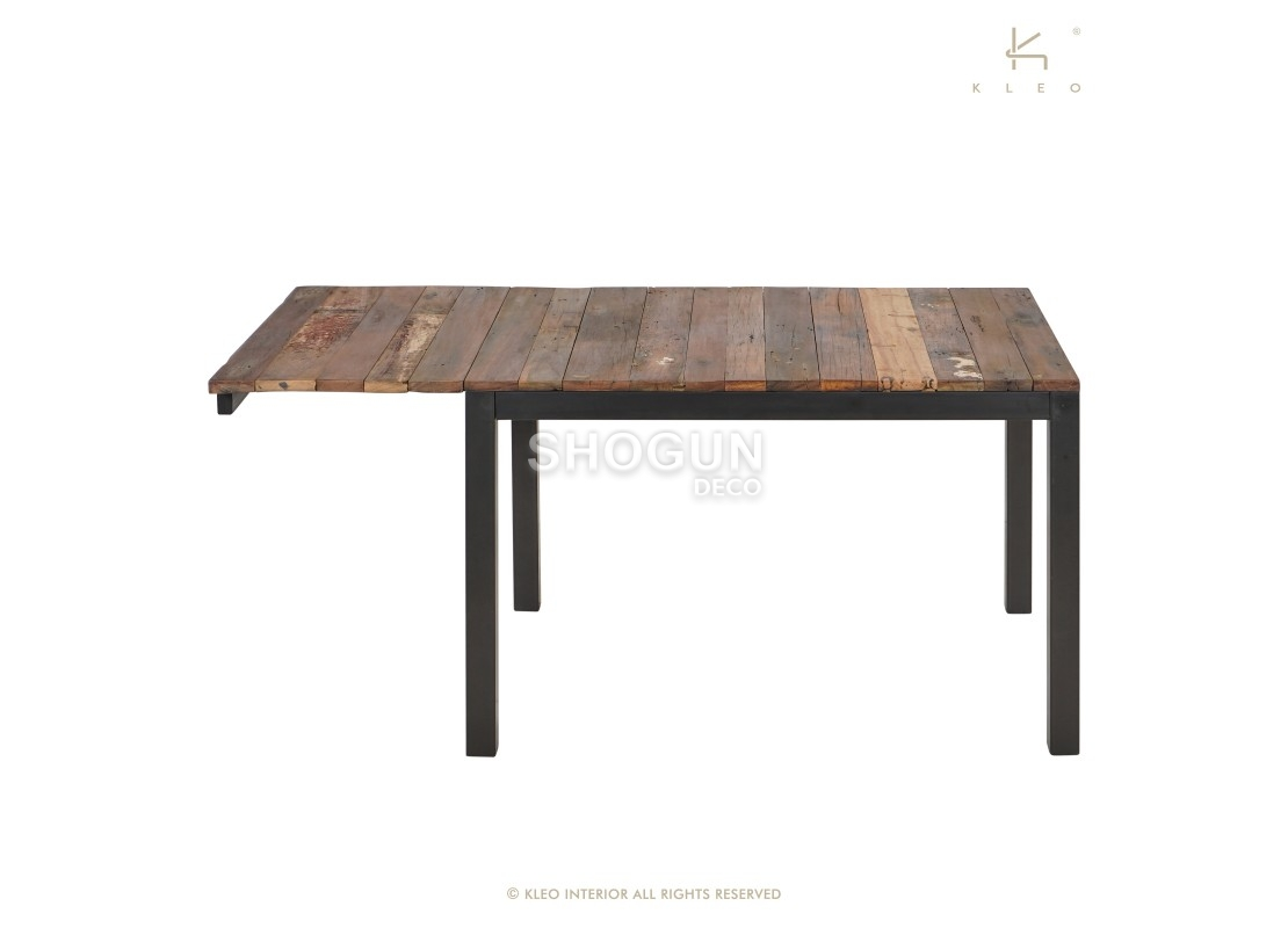 Table à manger rectangulaire extensible Edito   L12 12cm   12 à 12 ...
