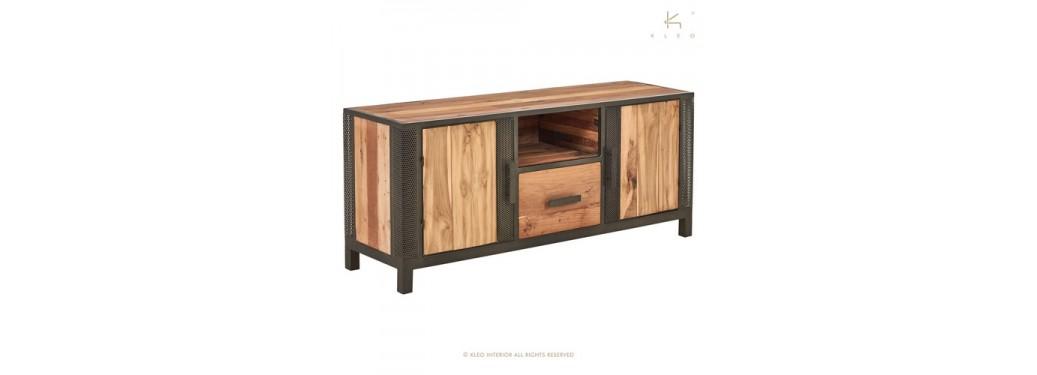Meuble TV Chic, 2 portes / 1 tiroir