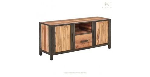 Meuble TV Chic, 2 portes/1 tiroir - L140cm