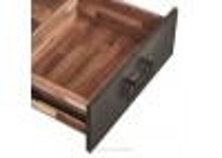 Meuble TV industriel Edito - 2 tiroirs