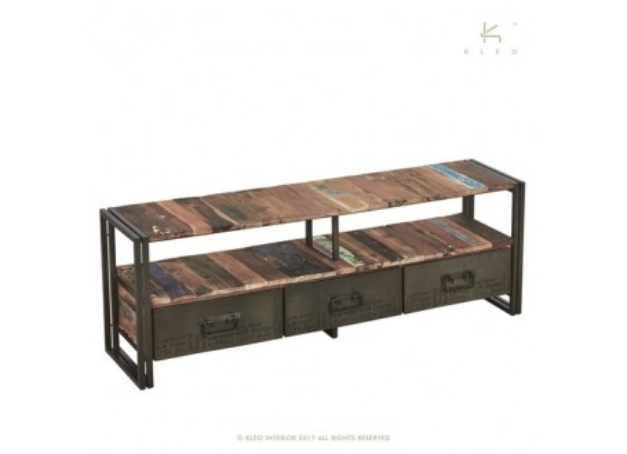 Meuble TV Edito, 3 tiroirs