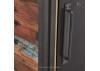 Meuble TV industriel Edito - 2 portes coulissantes