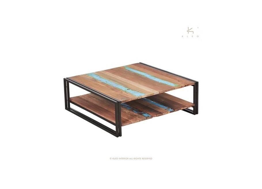 Table basse carrée Edito - L100cm