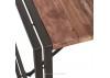 Table repas rectangulaire industrielle Edito - L200 cm