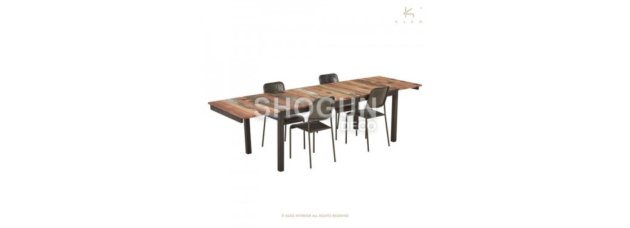 Table repas extensible Edito - L200-300cm