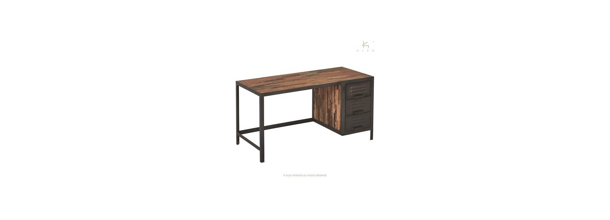 Bureau Locker, 3 tiroirs