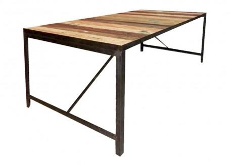 Table à manger Factory - 3/4 face