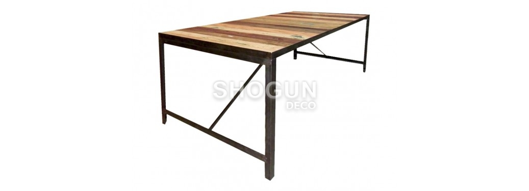 Table à manger Factory - 160cm