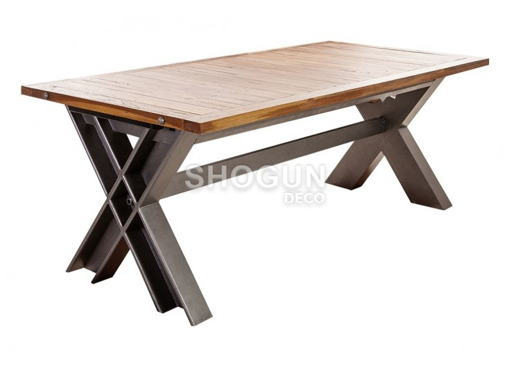 Table A Manger Industrielle Extensible.Table Repas Extensible Industrielle Profile