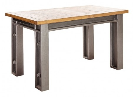 Table repas extensible industrielle Profile
