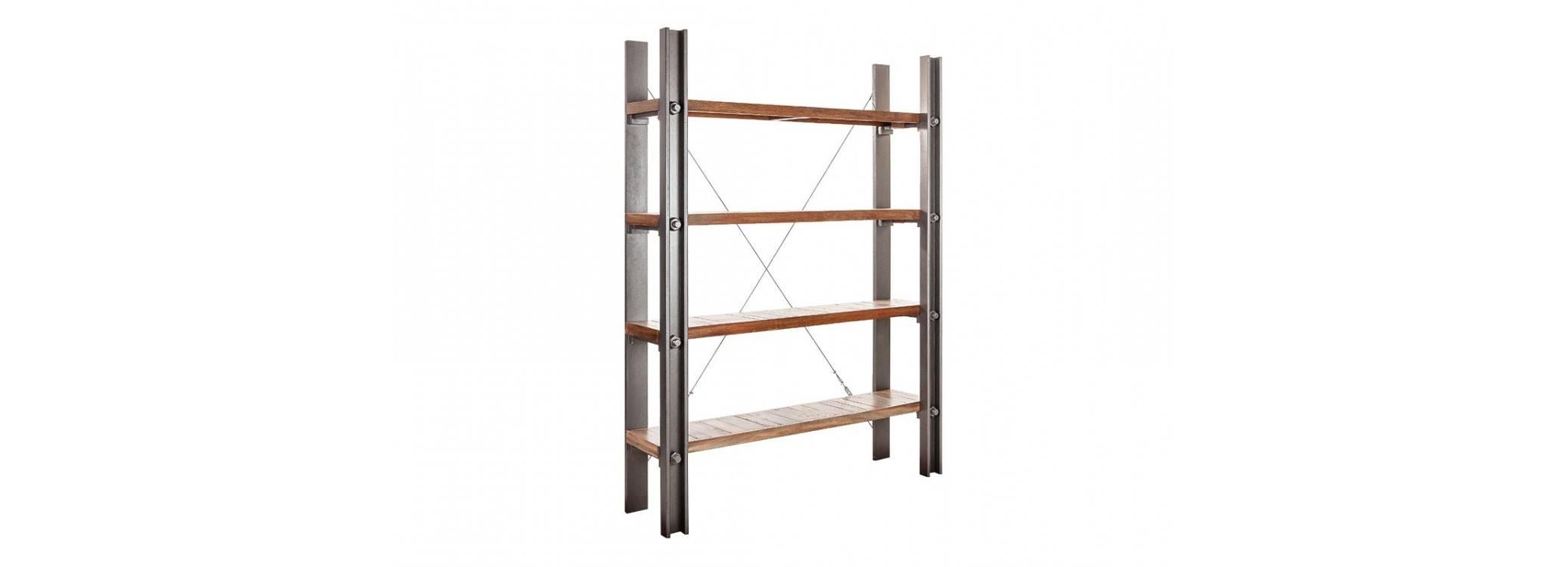 Etagère large industrielle Profile - 4 niveaux