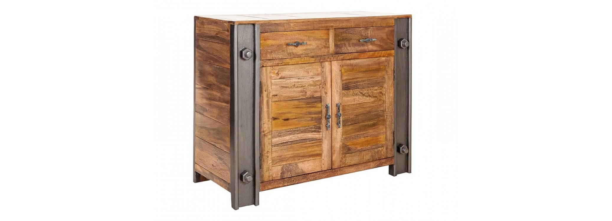 Buffet industriel Profile - 2 portes et 2 tiroirs