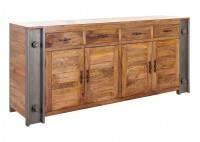 Buffet industriel Profile - 4 portes et 4 tiroirs