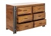 Commode industrielle Profile - 6 tiroirs