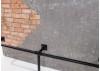 Bar comptoir industriel Brick - Plateau en ciment
