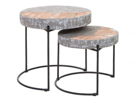Tables gigognes Brick