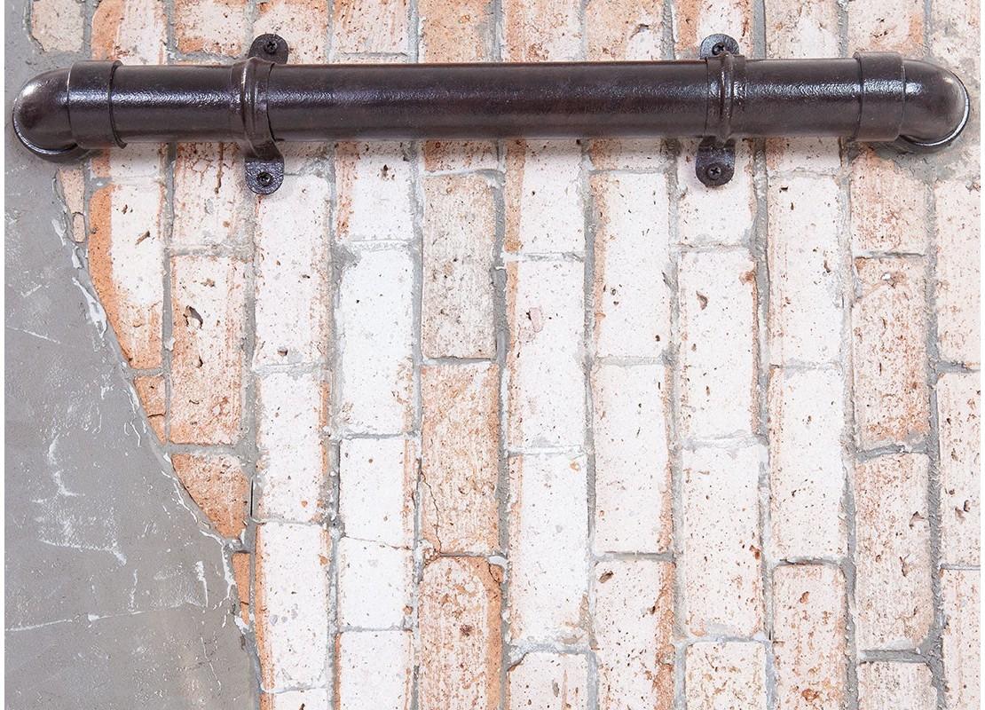 d coration murale industrielle brick. Black Bedroom Furniture Sets. Home Design Ideas