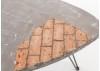 Guéridon triangulaire Bistrot - Moyen modèle