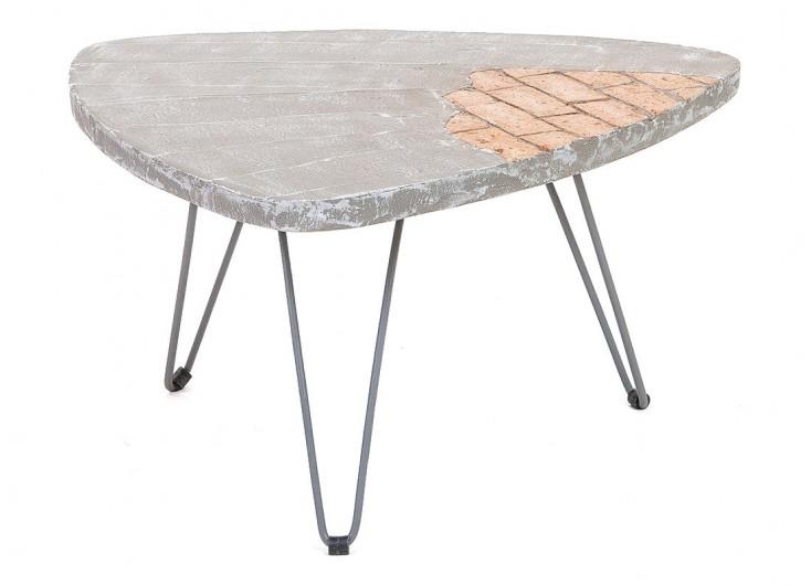 Table Basse Triangulaire Brick Moyen Modele