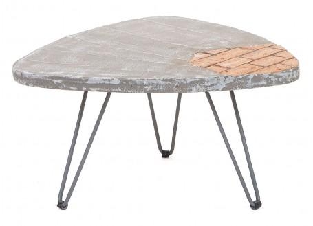Table basse triangulaire Brick - Petit modèle