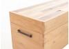 Coffre de rangement Bowtie - Finition palette