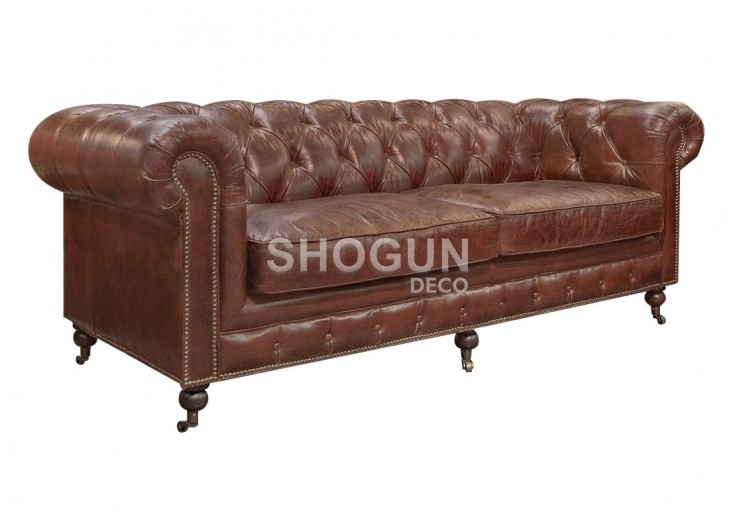 Chesterfield sofa 3 seaters