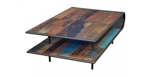 Table basse rectangulaire Influence - 120cm